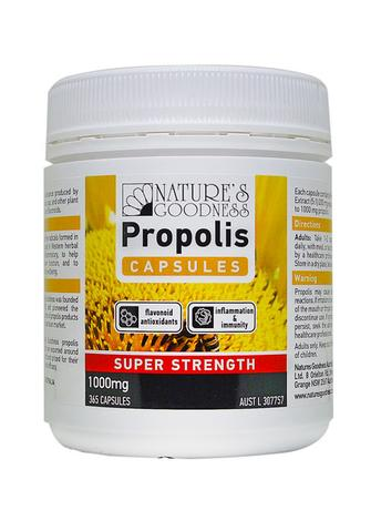 Natures Goodness Propolis Super Strength 1000mg 365 Capsules