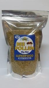 Australias Own Bee Pollen Natural 1kg