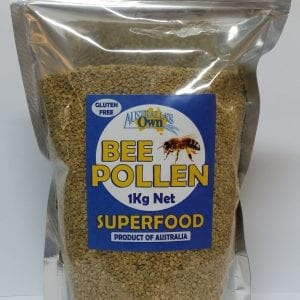 Australias Own Bee Pollen Natural 1kg