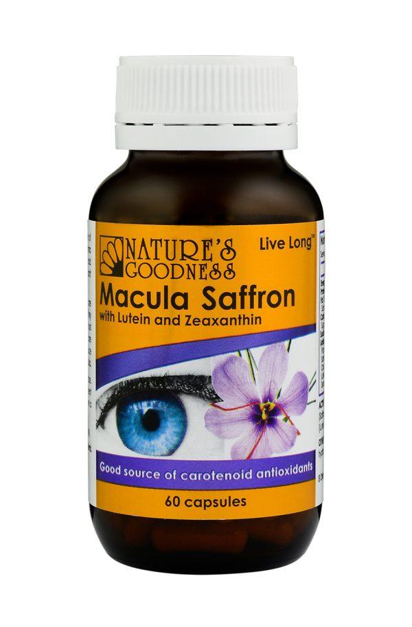 Natures Goodness Macula Saffron - 60 Capsules