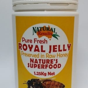 Natural Results Royal Jelly Pure Fresh in Honey 1.25kg