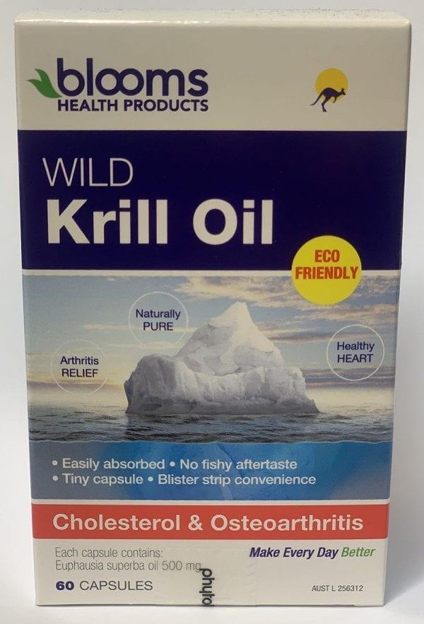 Blooms wild krill oil