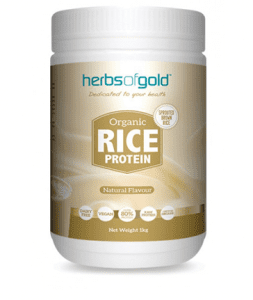 Herbs of Gold Organic Rice Protein