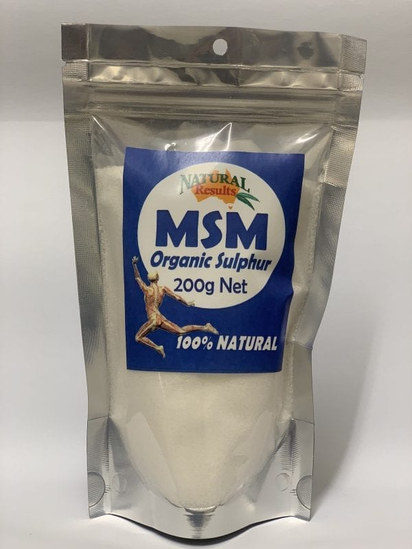 Natural Results MSM 200g