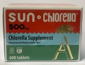 Sun chlorella 500mg 600T