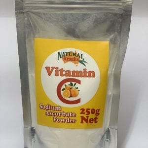Natural Results Vitamin C 250g