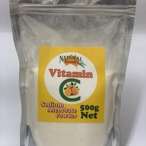 Natural Results Vitamin C 500g