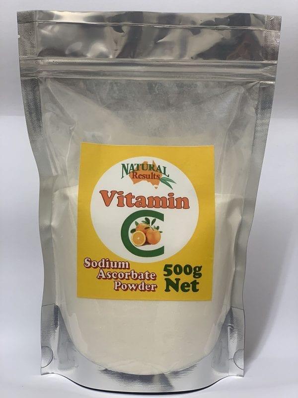 Natural Results Vitamin C 500g