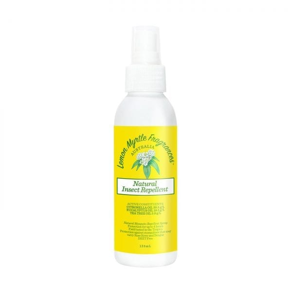 Lemon Myrtle Insect Repellent - 125ml Front