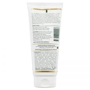 Lemon Myrtle Moisturiser - 200ml Back