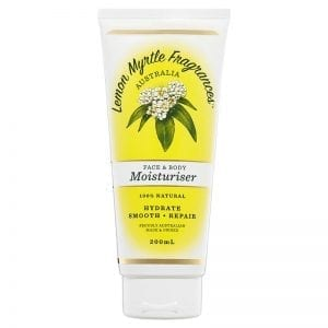 Lemon Myrtle Moisturiser - 200ml Front