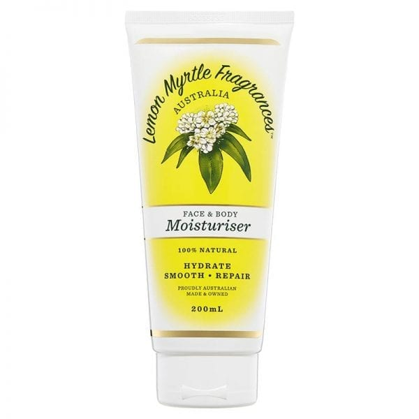 Lemon Myrtle Moisturiser - 200ml Front