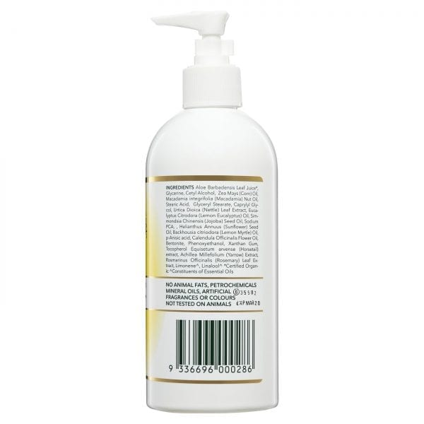 Lemon Myrtle Moisturiser - 500ml Side 2