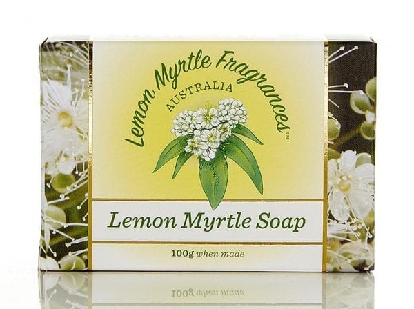 Lemon Myrtle Soap 100g - Plain in Box
