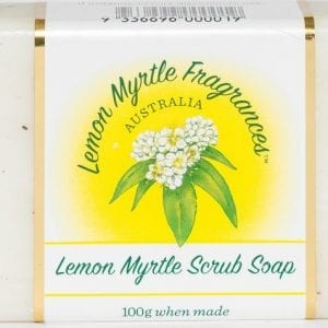 Lemon Myrtle Soap 100g - Scrub
