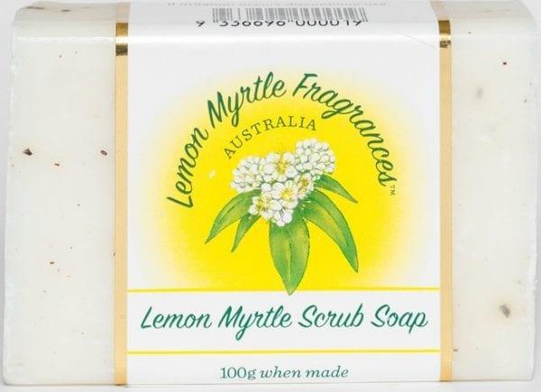 Lemon Myrtle Soap 100g - Scrub