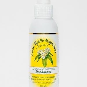 Lemon Myrtle Spray Deodorant 125ml