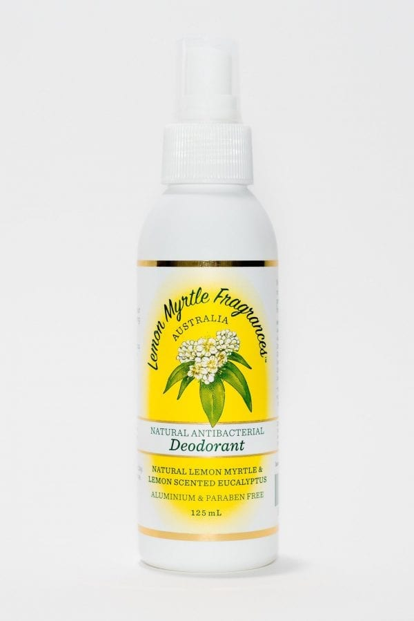 Lemon Myrtle Spray Deodorant 125ml