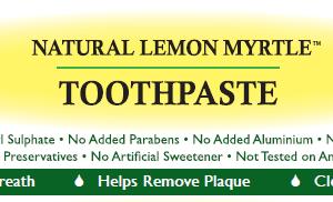 Lemon Myrtle Toothpaste - 110g