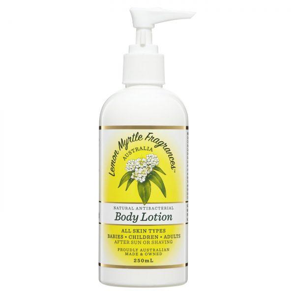Lemon Myrtle Body Lotion - 250ml Front