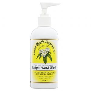 Lemon Myrtle Body and Hand Wash - 250ml Front
