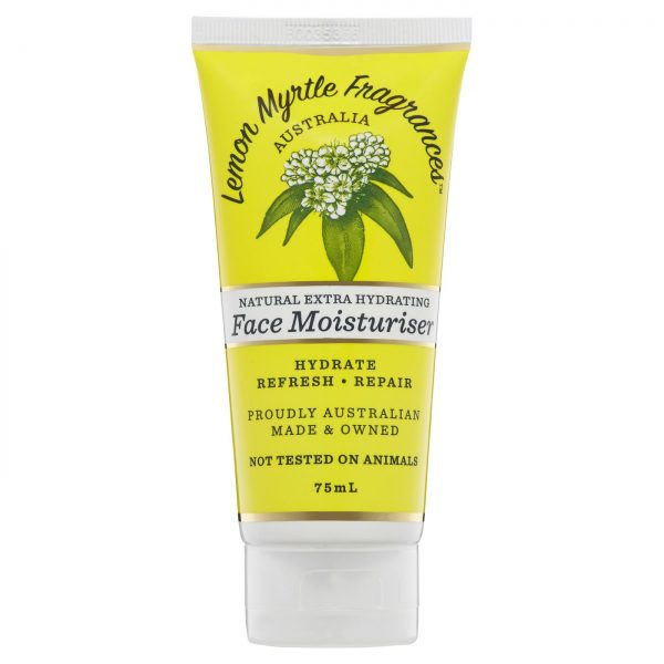 Lemon Myrtle Facial Moisturiser - 75ml Front