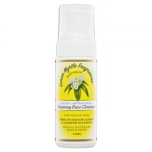 Lemon Myrtle Foaming Face Cleanser - 150ml Front